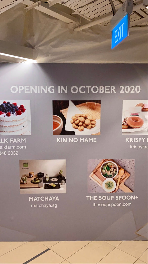 COMING SOON: Tea Bar Kiosk @ Paragon!