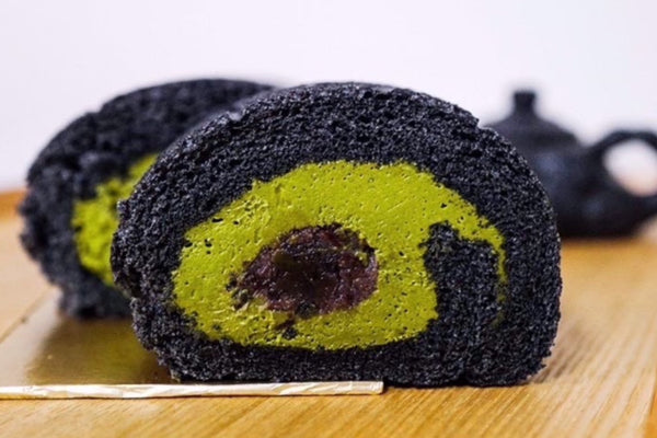 Matcha Azuki Roll Cake (Ceremonial Grade) - Matchaya: Progressive Tea Bar