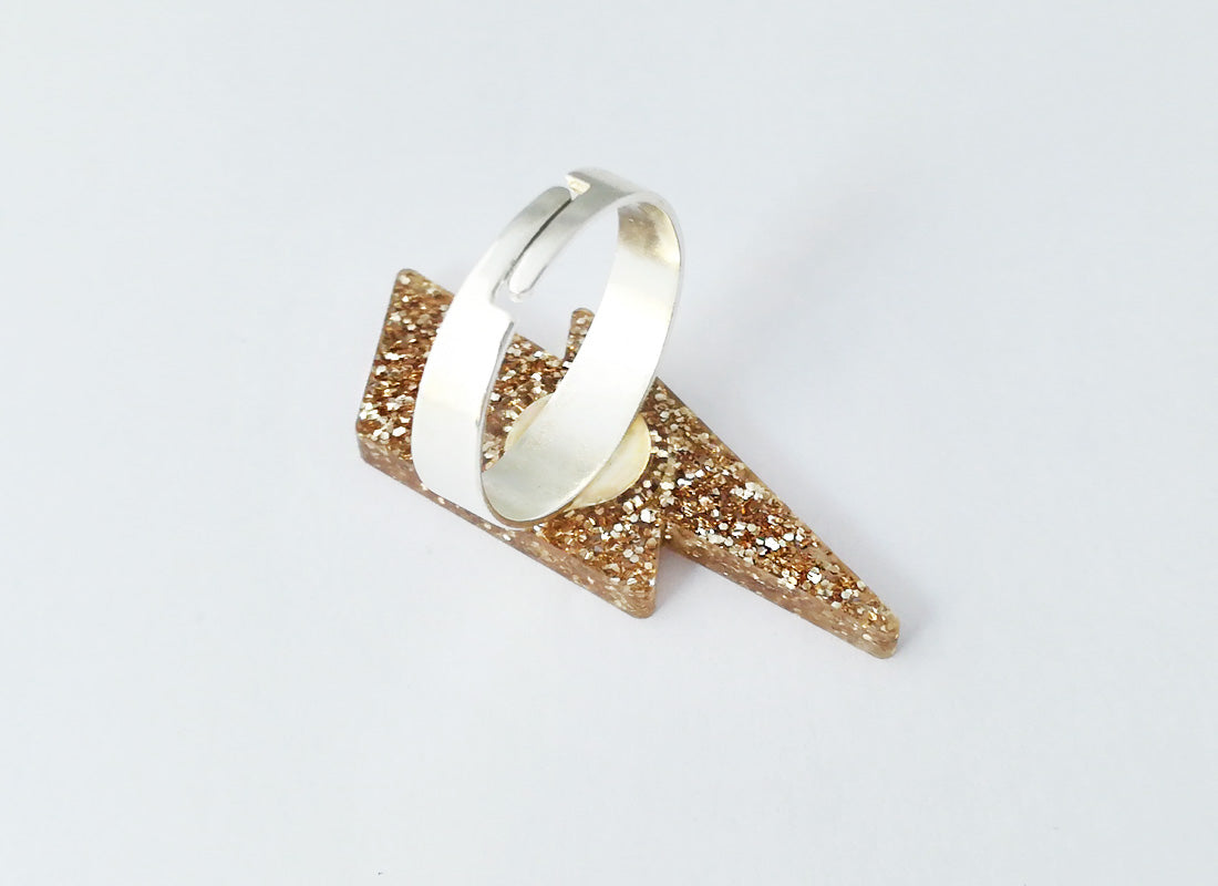 Anillo Golden Bolt