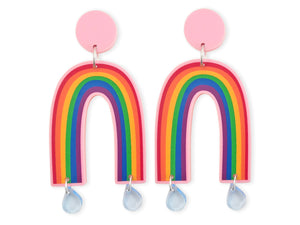 Pendientes maxi Arco Iris Rainbow Multicolor Colorful