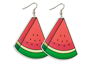 Pendientes Sandía Watermelon Earrings