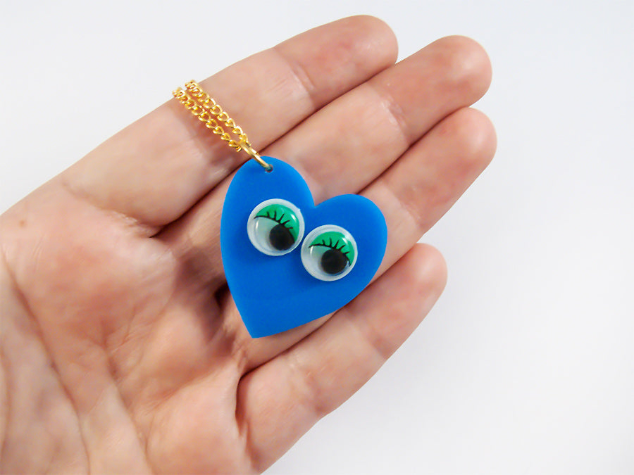 Collar Googly Eyes Heart