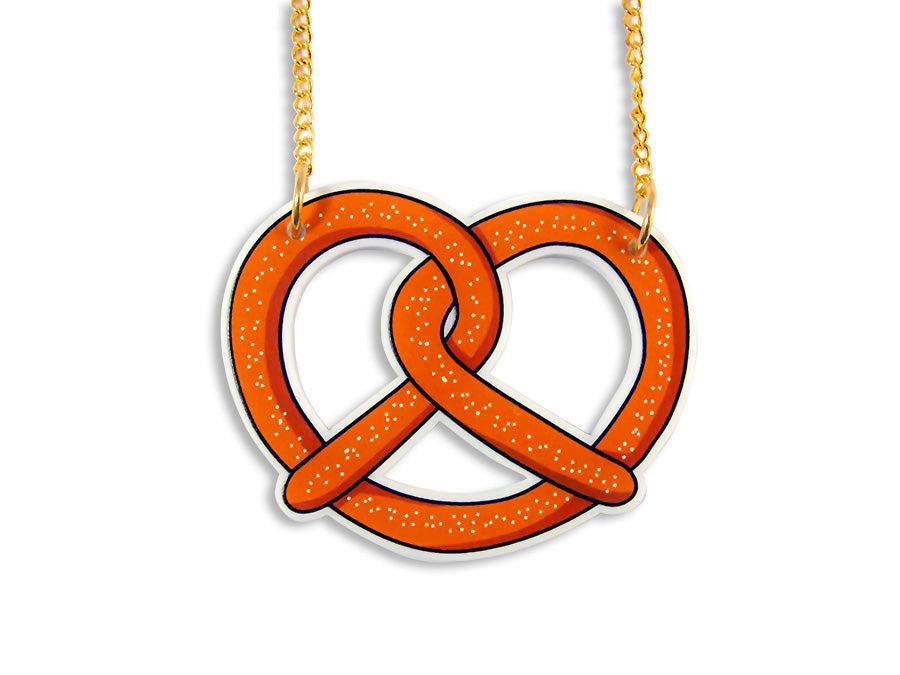 Collar Necklace Pretzel