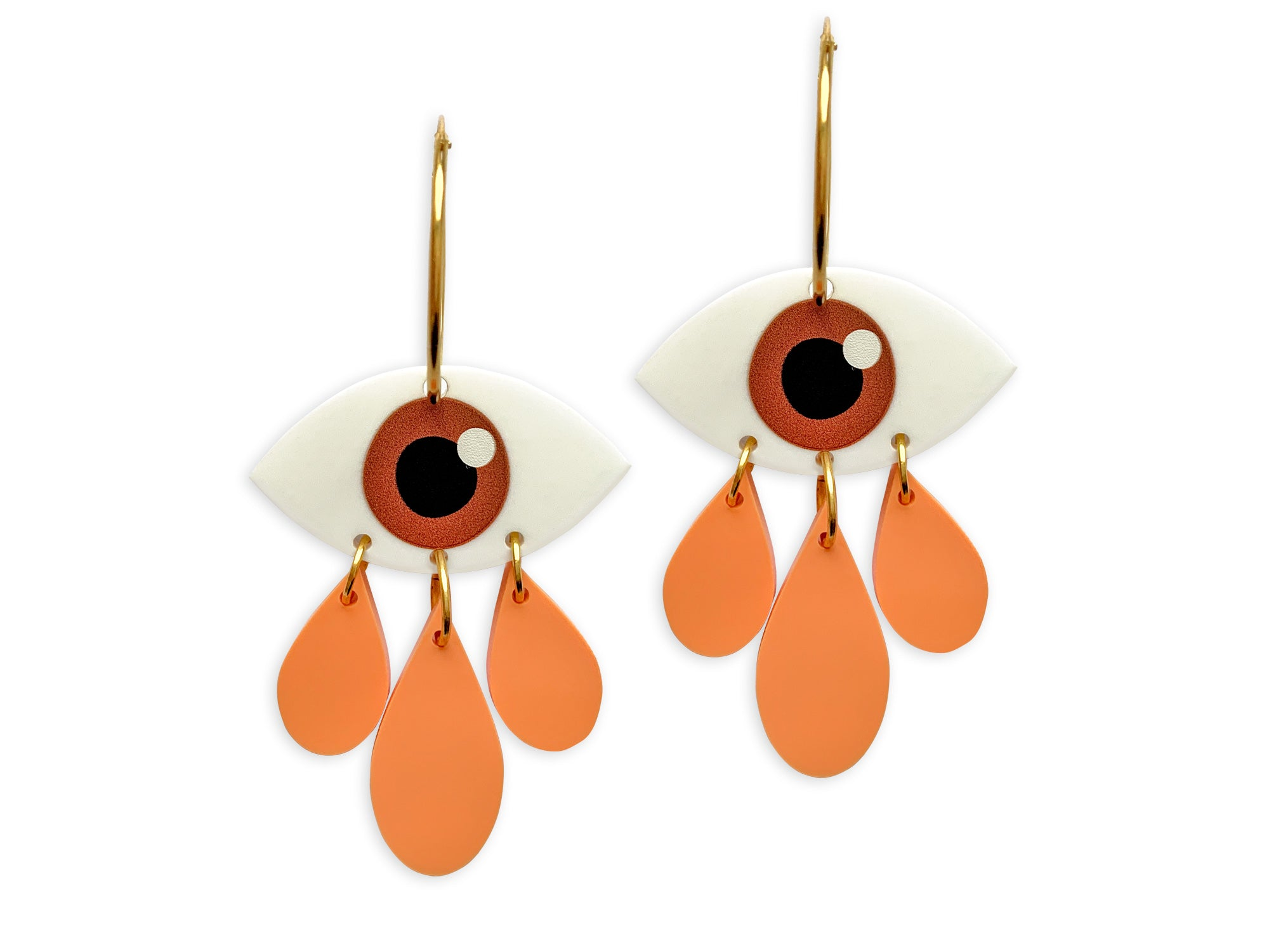 Pendientes Cry Baby Ojos Eyes Now or Never