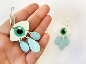 Pendientes Cry Baby Verde Now or Never