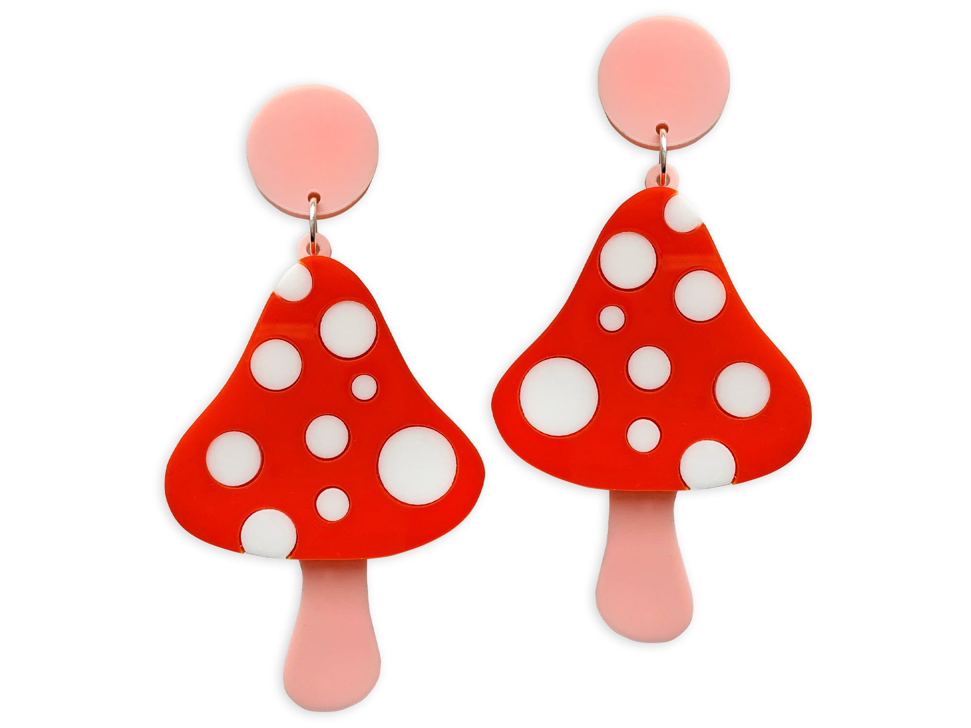 Pendientes Hallucinate Seta Mushroom Earrings