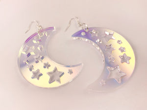 Pendientes Iridescent Night