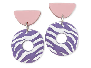 magiz zebra pendientes Now or never