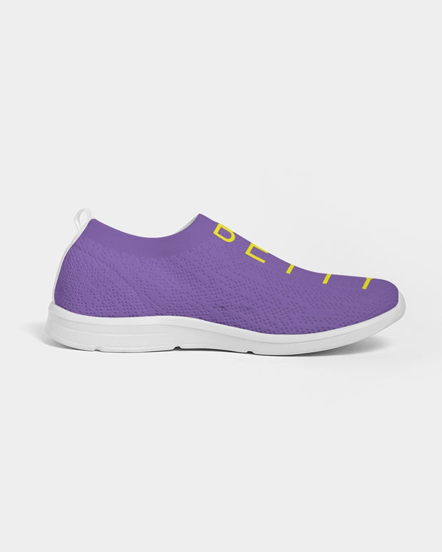 Funk Betty's Wall Of Fame Royal Purple Edition Men's Slip-On Flyknit Shoe