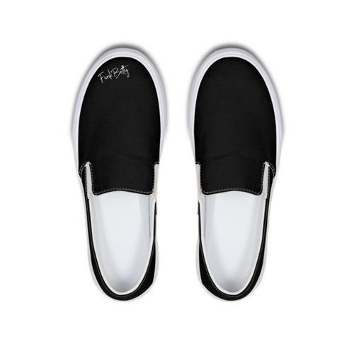 Funk Betty's Black Wall  of Fame Edition Slip-On Canvas Shoe