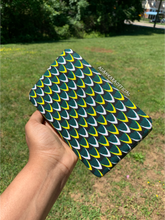 Load image into Gallery viewer, Green Yellow Acorn Princess Wallet
