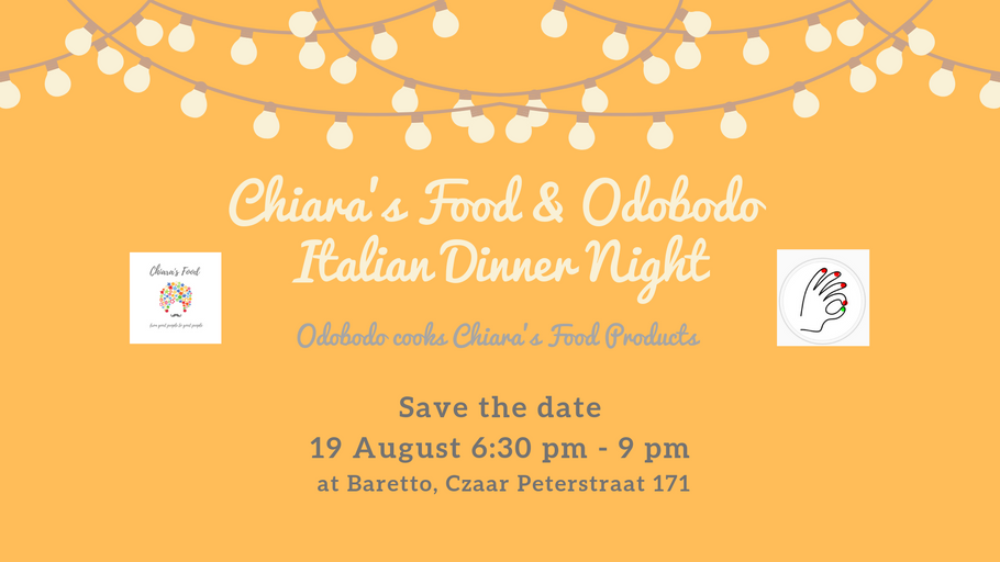 Chiara's Food Italian Dinner Night