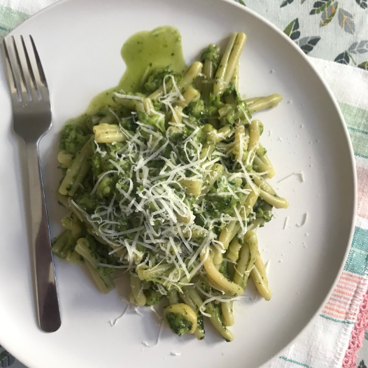 TRECCE WITH ZUCCHINI AND RUCOLA PESTO (X2)