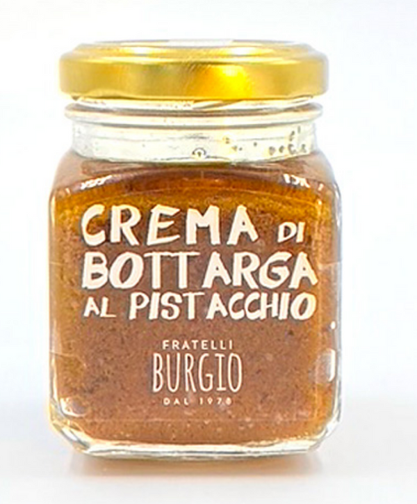 Bottarga spread with pistachio