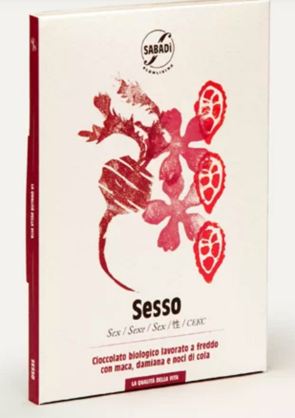 SEX – Organic chocolate with macadamia extract, and cola nuts