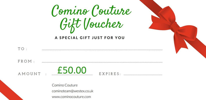 COMINO COUTURE £50 GIFT CARD