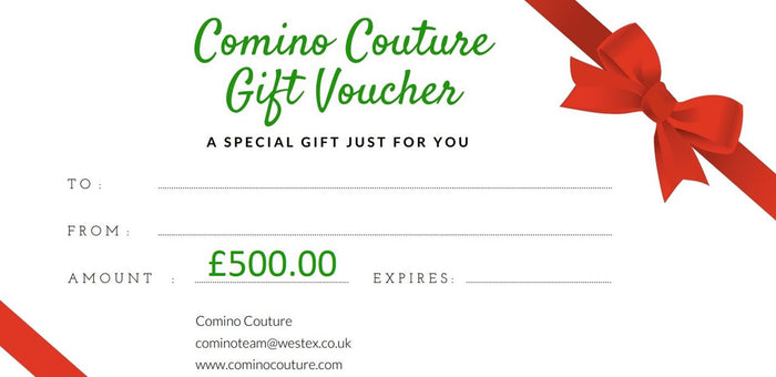 COMINO COUTURE £500 GIFT CARD