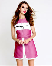 Load image into Gallery viewer, Pink Passion sleeveless dress with bow *WAS £145*