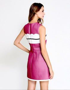 Pink Passion sleeveless dress with bow *WAS £145*
