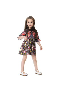 "Little Miss Comino ""Flamingo"" Dress"