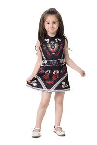 Little Miss Comino Vintage Black Dress