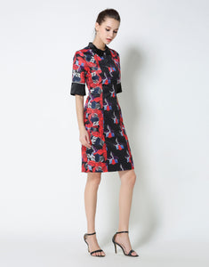 Comino Couture Printed Shirt Dress *WAS £75*