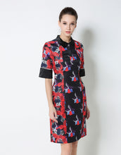 Load image into Gallery viewer, Comino Couture Printed Shirt Dress *WAS £75*