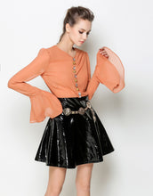 "Load image into Gallery viewer, Comino Couture ""Orange is the New Black"" Tie Shirt dress *WAS £165*"