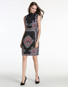 Comino Couture Black Midi Vintage Beaded Dress *WAS £150*
