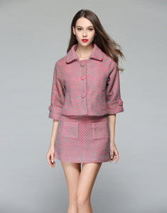 Comino Couture Pink Jacket & Skirt Combo *WAS £140*