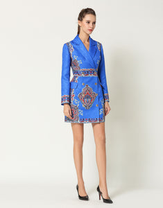Comino Couture Electric Blue Blazer Dress *WAS £160*