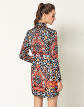 Load image into Gallery viewer, Comino Couture Folk Print Blazer Dress * WAS £160*