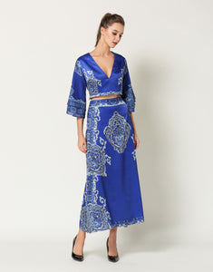 "Comino Couture ""Pretty In Blue"" Top & Skirt Set *WAS £155*"