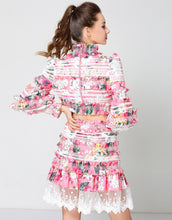 "Load image into Gallery viewer, Comino Couture ""Pink Puff"" two-piece set"