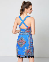 Load image into Gallery viewer, Comino Couture Electric Blue Buckled Strap Dress *WAS £160*