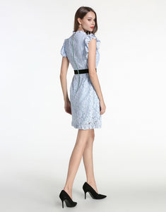 Comino Couture Blue Cotton Candy Dress *WAS £145*
