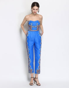 Electric Blue Jumpsuit *WAS £165*