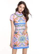 Load image into Gallery viewer, China Doll Mini Dress *WAS £180*