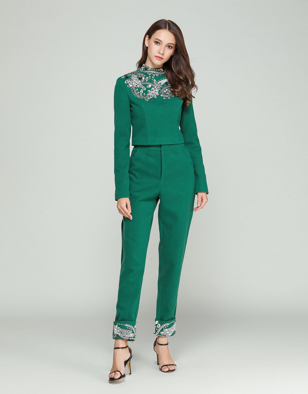 Comino Couture Emerald City Trouser Suit *WAS £250*