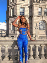 Load image into Gallery viewer, Electric Blue Jumpsuit *WAS £165*