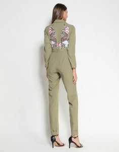 Green Leopard Boiler Suit *WAS £160*