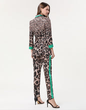 Load image into Gallery viewer, Leopard-Print Jacquard Suit