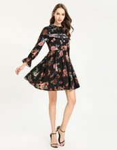 Load image into Gallery viewer, 'spread your wings' Butterfly Appliqué Floral Dress *WAS £145*