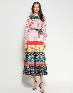 Flower Power Maxi Dress
