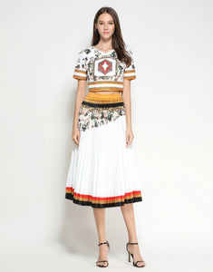 Moroccan Summer Two Piece Set