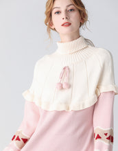 Load image into Gallery viewer, Heart on my sleeve pink jumper dress