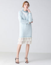 Load image into Gallery viewer, Ice Queen long sleeve jumper dress