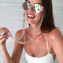 Load image into Gallery viewer, NEW! Pastel Compote sunglass chain