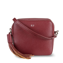 Load image into Gallery viewer, Maroon Vegan Leather Cross Body Bag ThreeSixFive