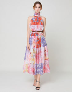 Summer Lovin halterneck maxi dress
